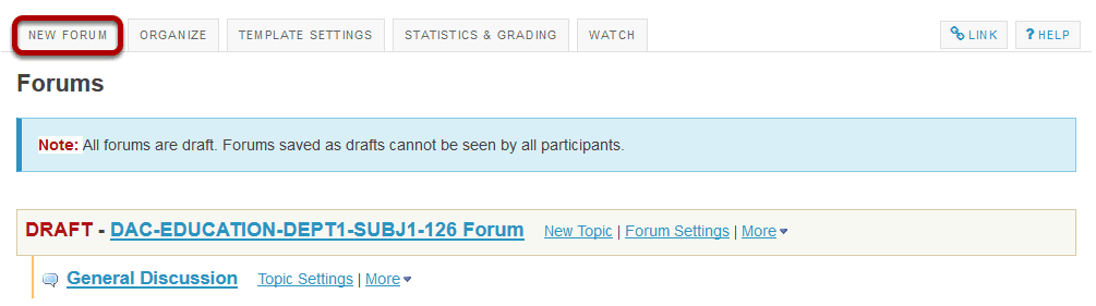 How do I create forums and topics?